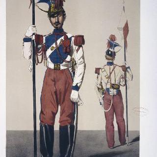 1857년의 황실 수비대