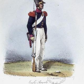 생-시르 왕실학교 학생, 1824년