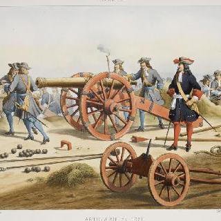 1671년 포병대