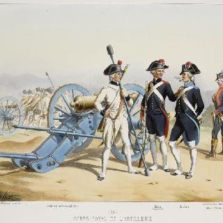 포병 본대, 1786년