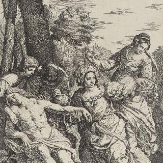 생트 이렌느의 간호를 받는 생 세바스티앙