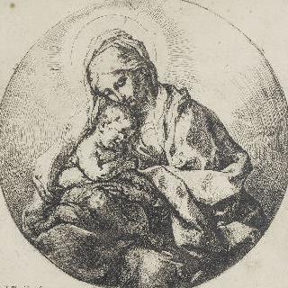 성모와 아기