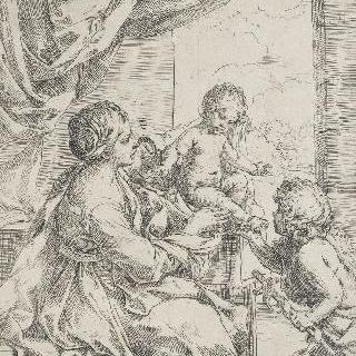 성모, 아기 예수, 성 세례 요한