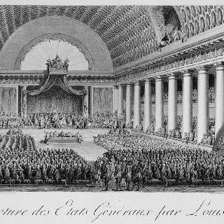 1789년 5월 5일 베르사유에서 루이 16세가 개최한 삼부회