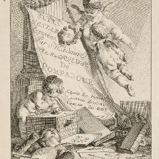 왕실 조각사 구에(1711-1793)의 조각돌을 모사한 판화 연작 : 표제