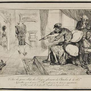 샤를 10세의 영화로운 통치하의, 은총의 해, 1840년