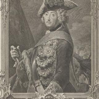 프레데릭 2세 (1712-1786), 일명 대왕, 프러시아 왕