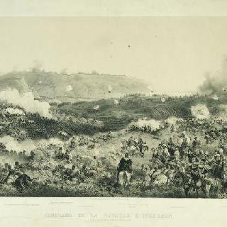 1854년 11월 5일 동맹군이 승리한 인케르만 전투 파노라마 전경