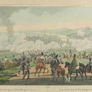 1813년 부르즈부르그 폭격