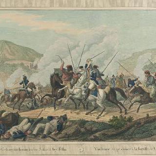1813년 8월 30일 퀼므 전투에서 포로가 된 방담