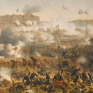 프랑스 군대에 의한 말라코프 함락, 1855년 9월 8일