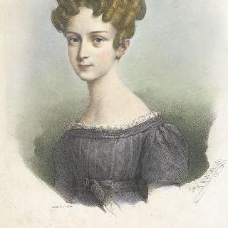 열 세살 시절의 마리 도를레앙 (1813-1839)