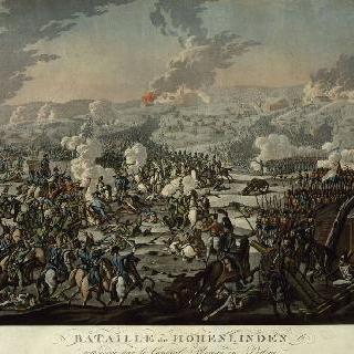 1800년 12월 2일 모로 장군이 직접 지휘한 호한린덴 전투
