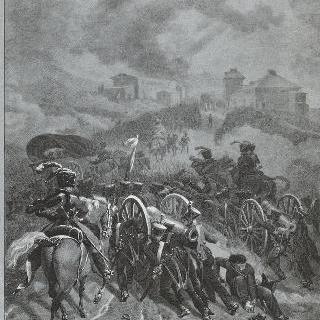 스페인의 과다라나를 통과하는 프랑스 군대 [원문대로]
