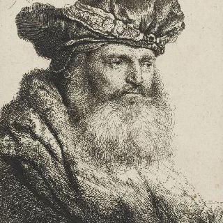 보석이 달린 모자를 쓴 유대인