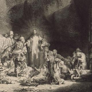 100 플로렌스 금화 또는 병자를 치유하는 예수 ; 첫 번째 판