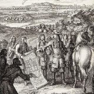 네덜란드 전쟁터로 떠나는 왕