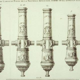 플랑드르 지방에서 만드는, 신 방식으로 주조된 포들