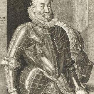 지휘봉을 들고 있는 루돌프 2세, 로마 황제