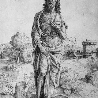 풍경 속의 성 세례 요한