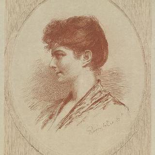 클레블란드 의장 부인 초상화