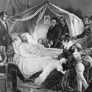 나폴레옹의 서거, 1821년 5월 5일