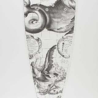 C. 코르넬리우스에 의한 1700년 천구의 모델 : 고래 자리, 피닉스 자리