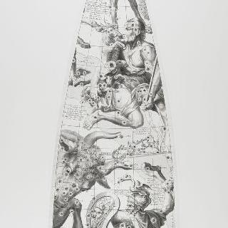 C. 코르넬리우스에 의한 1700년 천구의 모델 : 황소 자리, 오리온 자리