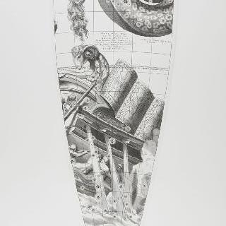 C. 코르넬리우스에 의한 1700년 천구의 모델 : 배 자리