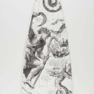 C. 코르넬리우스에 의한 1700년 천구의 모델 : 낫 자리, 뱀 자리