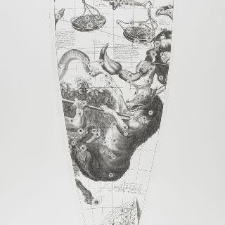 C. 코르넬리우스에 의한 1700년 천구의 모델 : 천칭 자리
