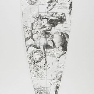 C. 코르넬리우스에 의한 1700년 천구의 모델 : 사수 자리