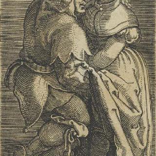 광대와 여자