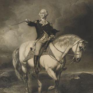 말을 탄 워싱턴 초상화