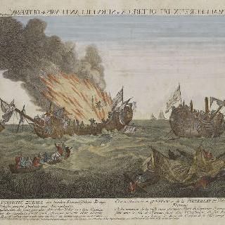 쉬르베이양트 범선과 퀘백 범선간의 전투