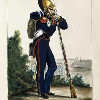 공병대 (정복), 1812년 일선 부대
