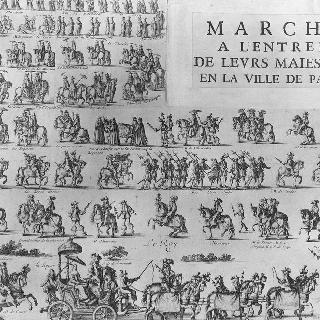 황제 폐하 파리시 입성 행진
