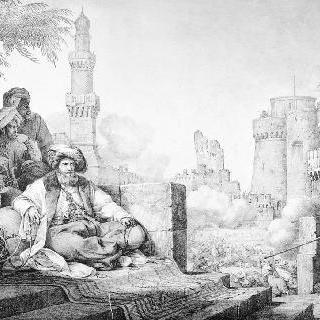 카이로 성의 반역 마믈루크 민병대 병사 학살 (1800년 4월 25일)