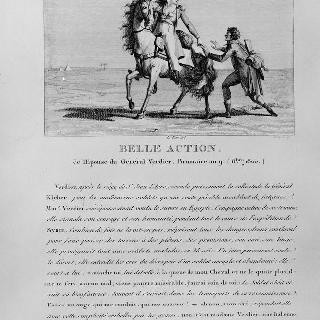 베르디에 장군 아내의 선행. 공화력 9년 무월 (1800년 10월)
