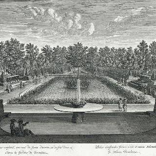 집록 : 1680년 베르사유 정원의 마레 총림 전경