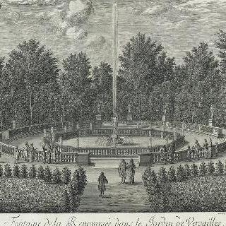 집록 : 1682년 베르사유 정원의 르노메 총림 전경