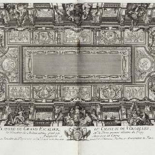집록 : 베르사유 성의 대계단. 판 24
