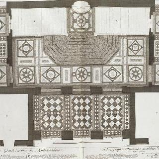집록 : 베르사유 성의 대계단. 판 2