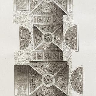 집록 : 베르사유 성의 대계단. 판 4
