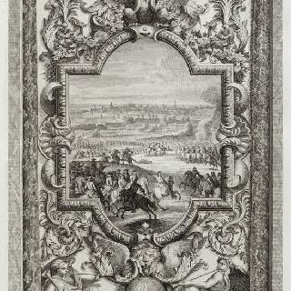 집록 : 베르사유 성의 대계단. 판 8