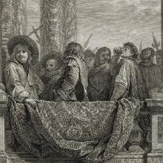 집록 : 베르사유 성의 대계단. 판 9
