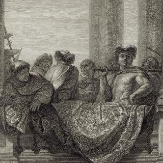 집록 : 베르사유 성의 대계단. 판 11