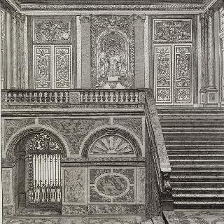 집록 : 베르사유 성의 대계단. 판 14