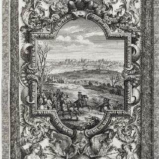 집록 : 베르사유 성의 대계단. 판 17