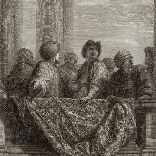집록 : 베르사유 성의 대계단. 판 18